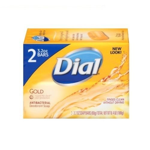 Dial-Antibacterial-Deodorant-Bar-Soap-Gold-4-oz-Pack-of-2-301965343871