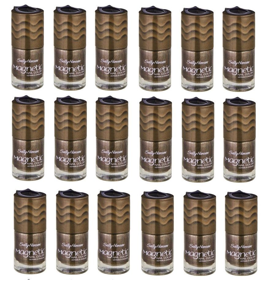 Sally Hansen Magnetic Nail Polish, 901 Golden Conduct Choose Your ...
