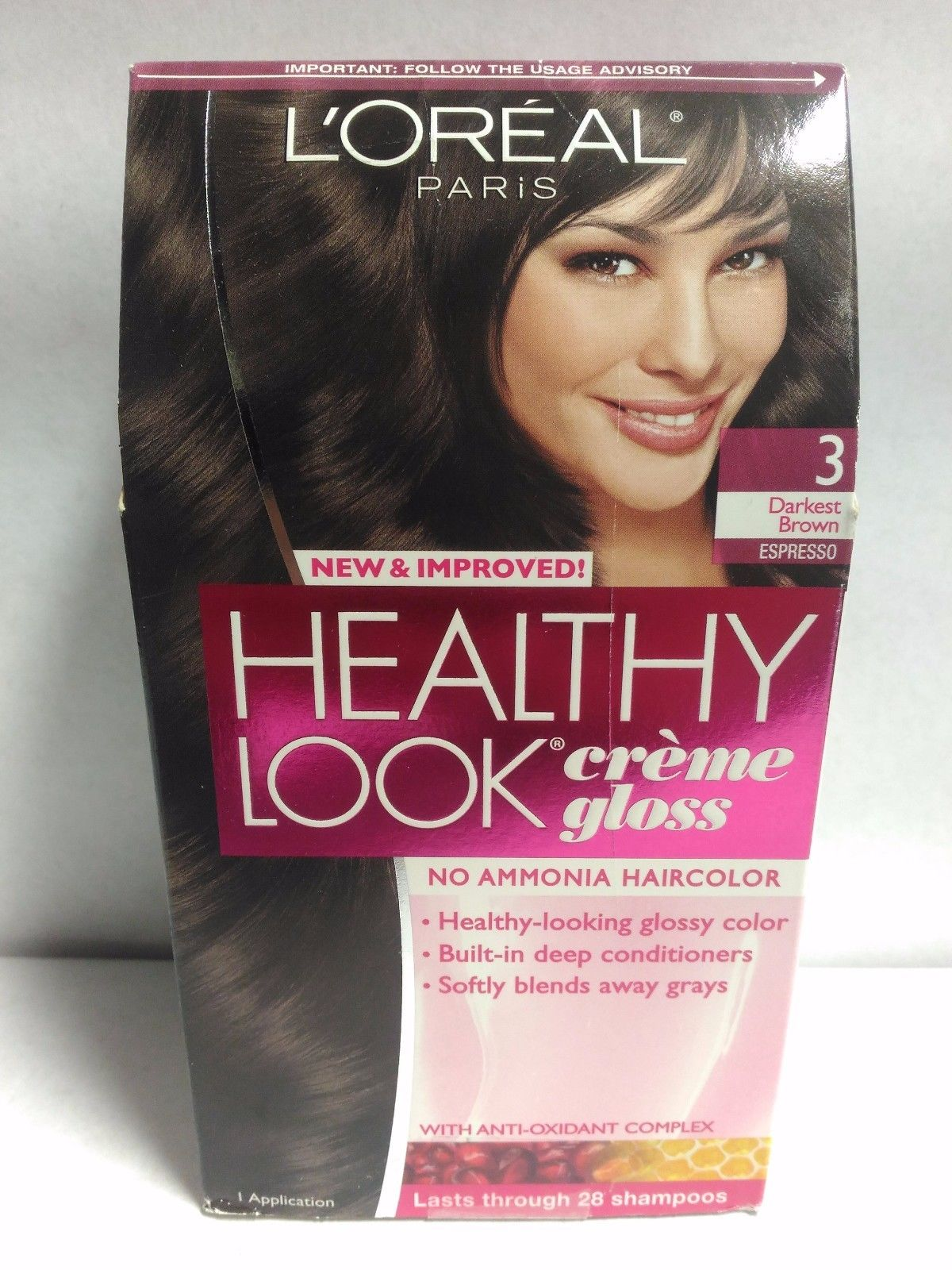 Loreal Paris Healthy Look Creme Gloss Haircolor Choose Your Color