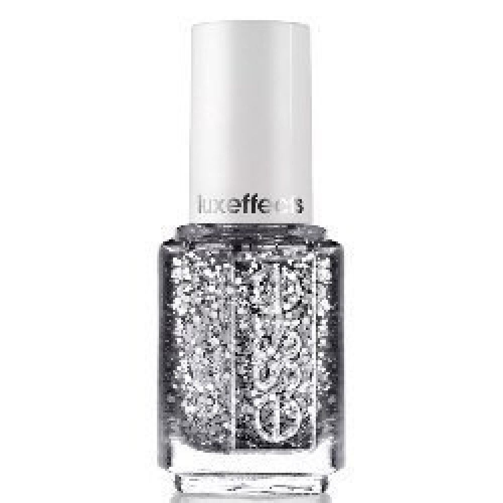 Essie Luxeffects Shiny Silver Nail Color Polish Style 958 \