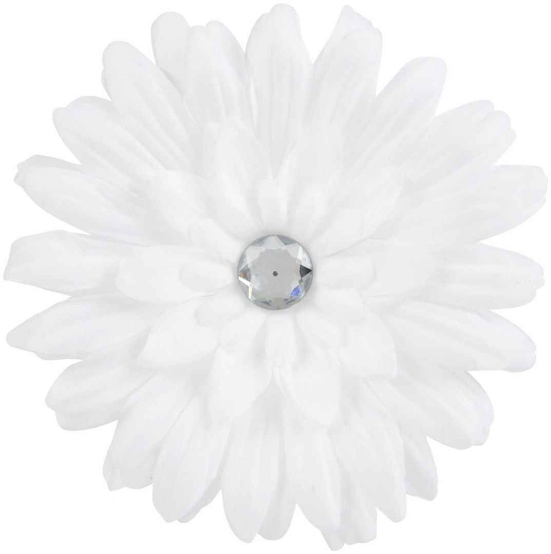 Gimme Clips White Flower Hair Clip Beat Bargains