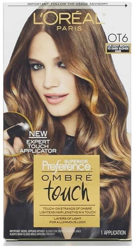 Loreal Superior Preference Ombre Touch Hair Color Ot6 Light Brown