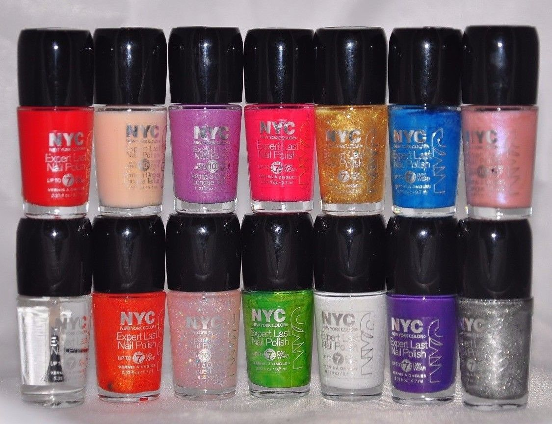 New York Color Expert Last Nail Polish, Choose Your Color – Beat ...
