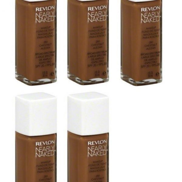 Variation-of-Revlon-Nearly-Naked-Liquid-Makeup-Broad-Spectrum-SPF-20-280-ChestnutquotYour-PACKquot-301993348108-12f2