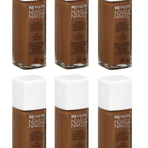 Variation-of-Revlon-Nearly-Naked-Liquid-Makeup-Broad-Spectrum-SPF-20-280-ChestnutquotYour-PACKquot-301993348108-6d04