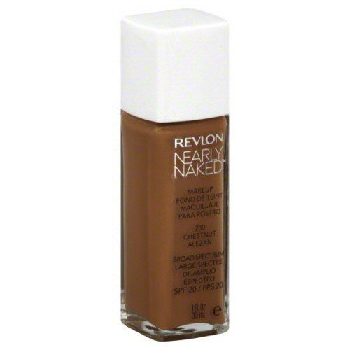 Variation-of-Revlon-Nearly-Naked-Liquid-Makeup-Broad-Spectrum-SPF-20-280-ChestnutquotYour-PACKquot-301993348108-b400