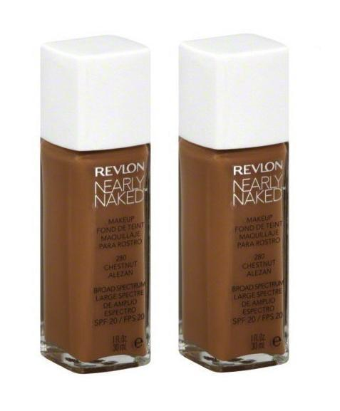 Variation-of-Revlon-Nearly-Naked-Liquid-Makeup-Broad-Spectrum-SPF-20-280-ChestnutquotYour-PACKquot-301993348108-fe04